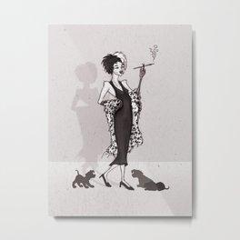 Cruella Metal Print