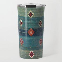 Sivas Antique Turkish Niche Kilim Print Travel Mug