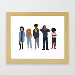 squad Framed Art Print