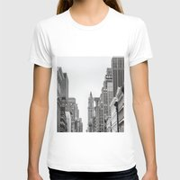 broadway T-shirts featuring Broadway - NY by Basma Gallery