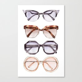 SO CHIC SUNNIES Canvas Print