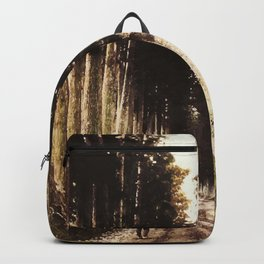 Alone in the woods of Nikko Backpack