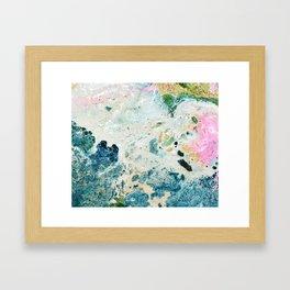 Light universe Framed Art Print