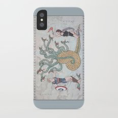 Steve, Bucky and the Hydra iPhone X Slim Case