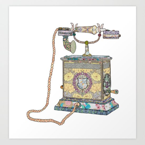 waiting for your call since 1896 Art Print
