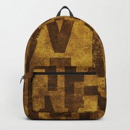 Hefeweizens Beer Typography Backpack