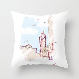 SLK Throw Pillow