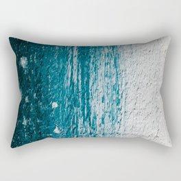 Distressed Wood Rectangular Pillow