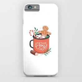 HOT COCOA CHRISTMAS iPhone Case