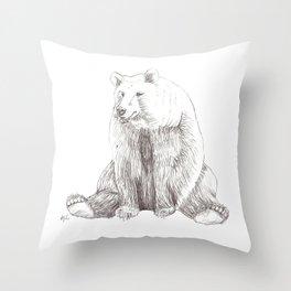Brody the Bear Throw Pillow
