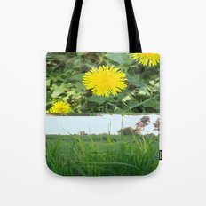Grass Dandy Tote Bag