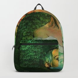 I CARRY YOUR HEART WITH ME Backpack