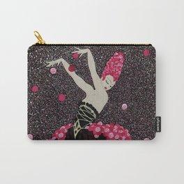 "Art Deco Design ""Rose Dance"" by Erté Carry-All Pouch"
