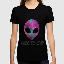 Alien to Love - PURPLE T-shirt