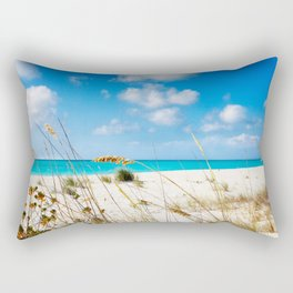 Half Moon Bay dunes, Turks & Caicos Rectangular Pillow