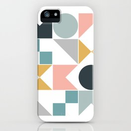 Modern Geometric 08 iPhone Case