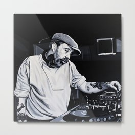 ANDREW WEATHERALL Metal Print