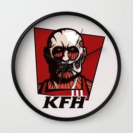 Kentucky Fried Human Wall Clock