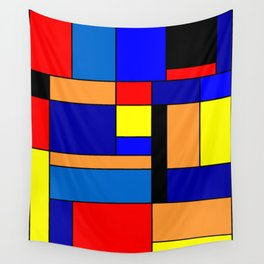 Mondrian #2 Wall Tapestry