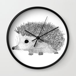 BABY HEDGEHOG Wall Clock