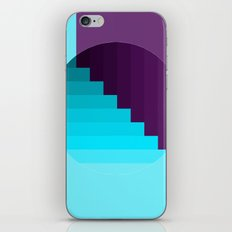 Ups and Down | Deep Within | Purple | Blue | Turquoise iPhone & iPod Skin