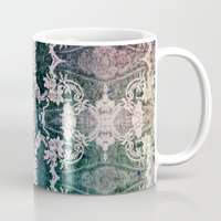 lace Mugs featuring Lace by Truly Juel