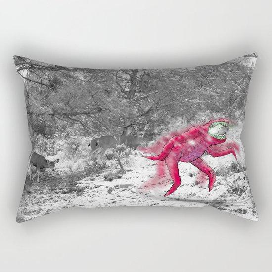 Unseen Monsters of Mount Shasta - Cheviank Wilkchum Rectangular Pillow