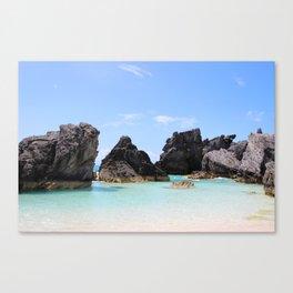 Bermuda Coast Canvas Print