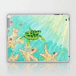 Two worlds Laptop & iPad Skin
