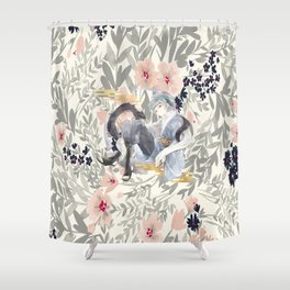 teen mitsuki Shower Curtain
