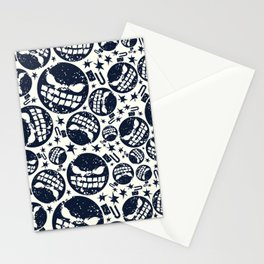 Happy halloween  bomb pattern Stationery Cards