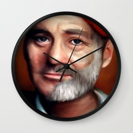Bill Zissou  Wall Clock