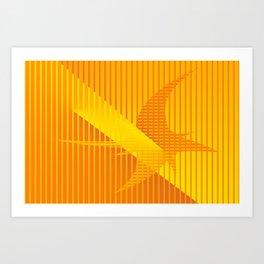 Lightcuts... Art Print