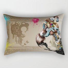 InkSans - Wallpaper Rectangular Pillow