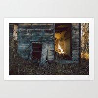 |BACK HOUSE| Art Print