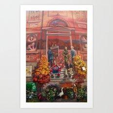Art à Victoriaville - Très belle #fresque Art Print