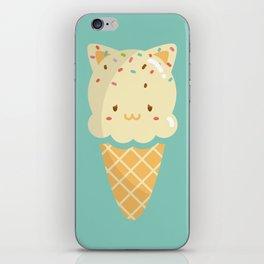 Vanilla Ice-cream iPhone Skin