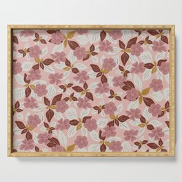 Flower Patch | Dusky Pink Serving Tray