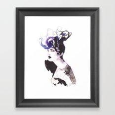 Hairstyle Framed Art Print