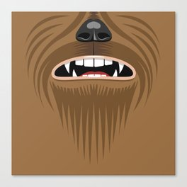 Chewbacca - Starwars Canvas Print
