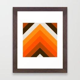 Golden Thick Angle Framed Art Print