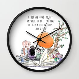 Roald Dahl Day Wall Clock