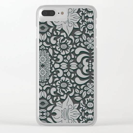 Pattern #13 Clear iPhone Case