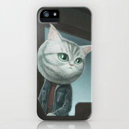 Spy Cat iPhone Case