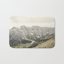 The Dolomites Bath Mat