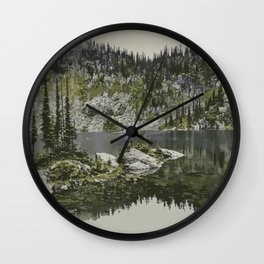 Mount Revelstoke National Park Wall Clock