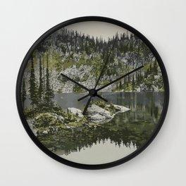 Mount Revelstoke National Park Wall Clock