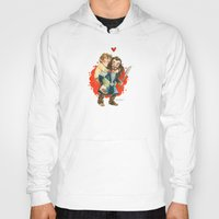 hobbit Hoodies featuring Hobbit Hug by Super Group Hugs