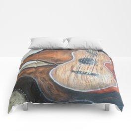 guitar in case Comforters