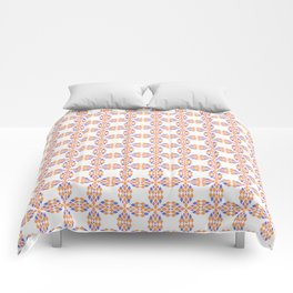 colorful rhombs Comforters